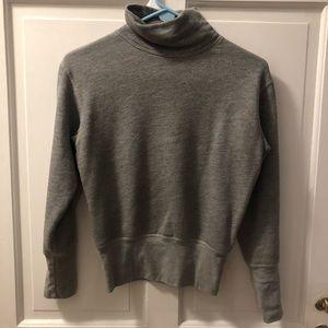 Rivet and Thread Fleece Mockneck Sweatshirt